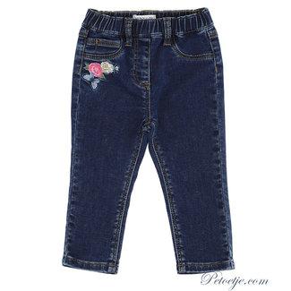 MONNALISA Meisjes Blauwe Disney Denim Jeans