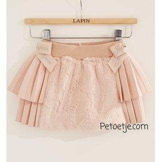 LAPIN HOUSE Meisjes Roze Imitatiebont Rok