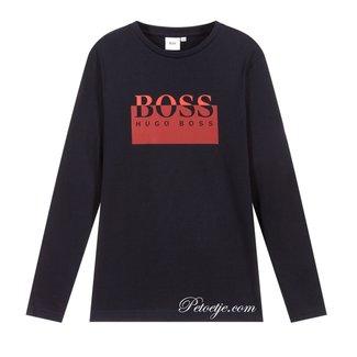 HUGO BOSS Kidswear  Jongens Blauwe Logo Top