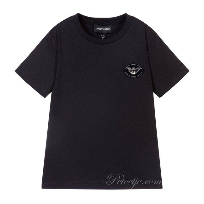 EMPORIO ARMANI Jongens Blauwe T-shirt