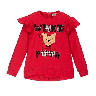 EMC Girls Red Disney Sweatshirt