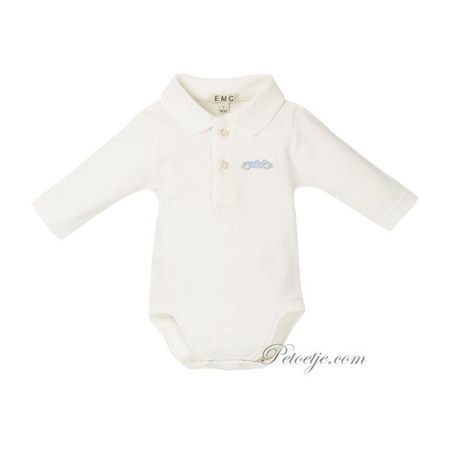 EMC Baby Jongens Witte Body Romper