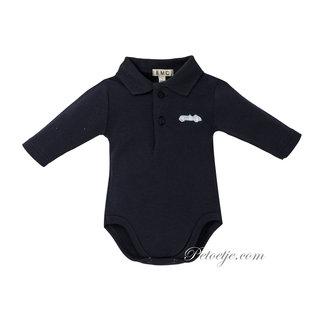 EMC Boys Navy Blue Cotton Bodysuit