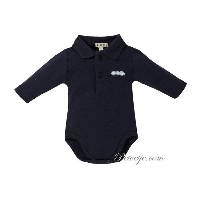 EMC Baby Jongens Blauwe Body Romper