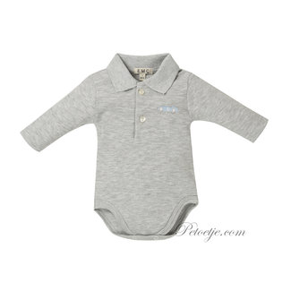 EMC Boys Grey Cotton Bodysuit