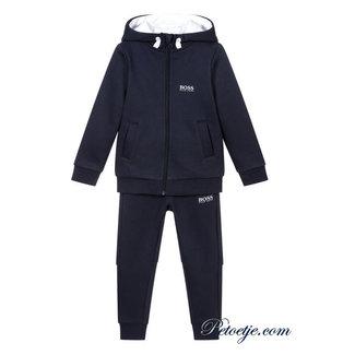 HUGO BOSS Kidswear  Jongens Blauwe Logo Training