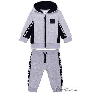 HUGO BOSS Kidswear  Baby Jongens Grijze Training Set