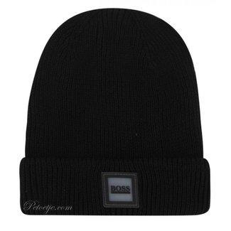 HUGO BOSS Kidswear  Boys Black Cotton Logo Hat