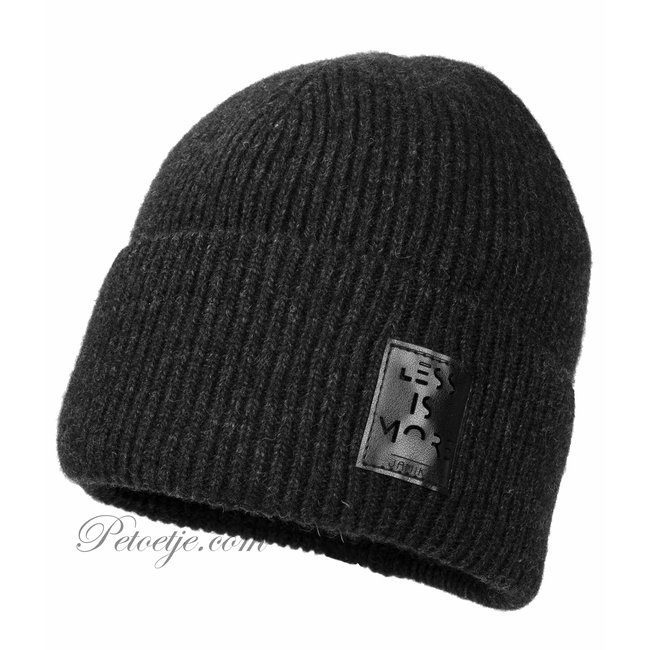 JAMIKS Boys Grey Knitted Wool Hat