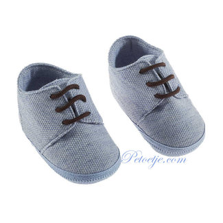 BARCELLINO Chambray Blue Pre Walker Shoes