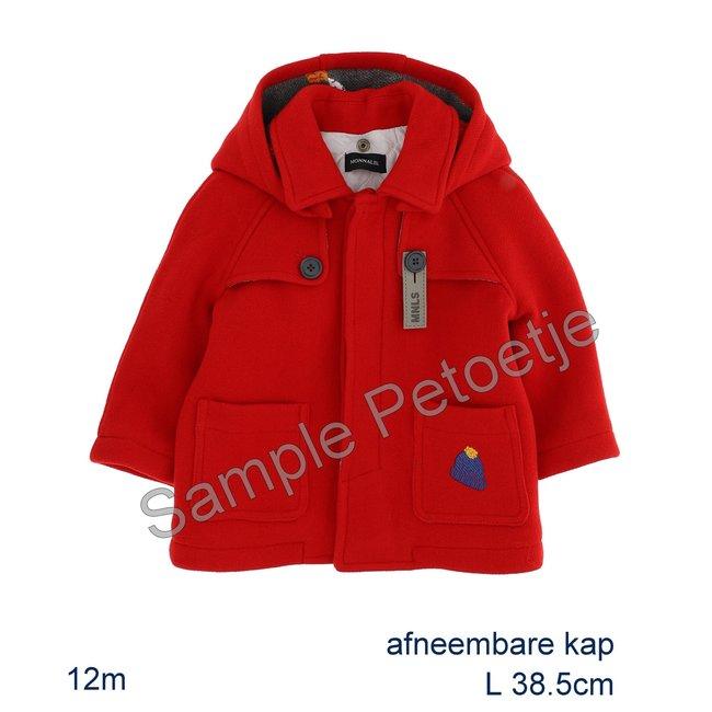 MONNALISA Red Blend Coat