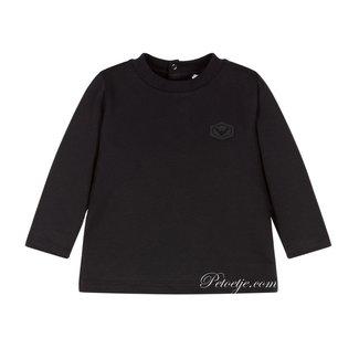 EMPORIO ARMANI Baby Boys Navy Blue Logo T-Shirt