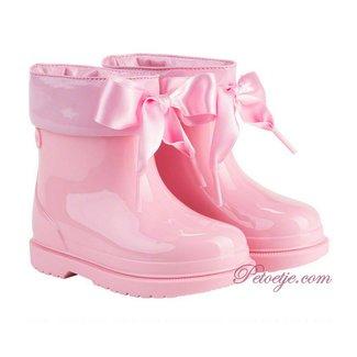IGOR  Bimbi Lazo Roze Regenlaarzen Strik