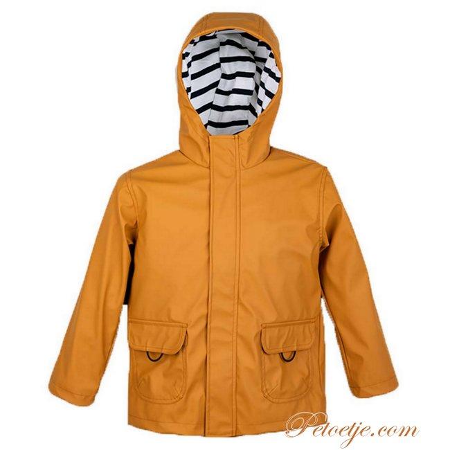 IGOR  Euri Caramelo Hooded Rain Coat