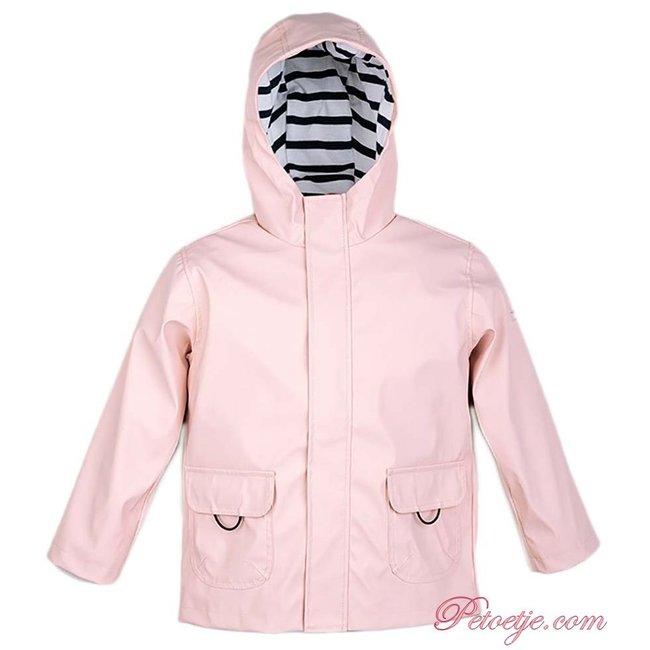 IGOR  Euri Pink Hooded Rain Coat - Maquillaje