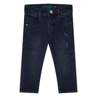 RETOUR Jeans Baby Meisjes Blauwe Denim Broek - Zosja