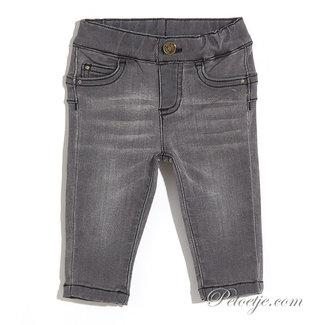 LIU JO Baby Girls Grey Denim Trousers