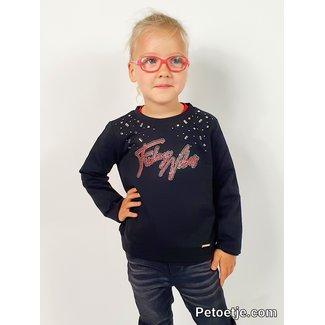 LIU JO Meisjes Zwarte Sweater Trui