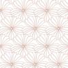 Swedish Linens Hoeslaken FLOWERS  White