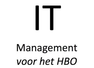 IT Management voor het HBO