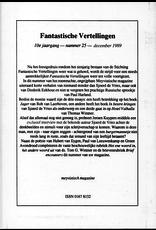 Fantastische Vertellingen, nr. 25, jrg 10, december 1989