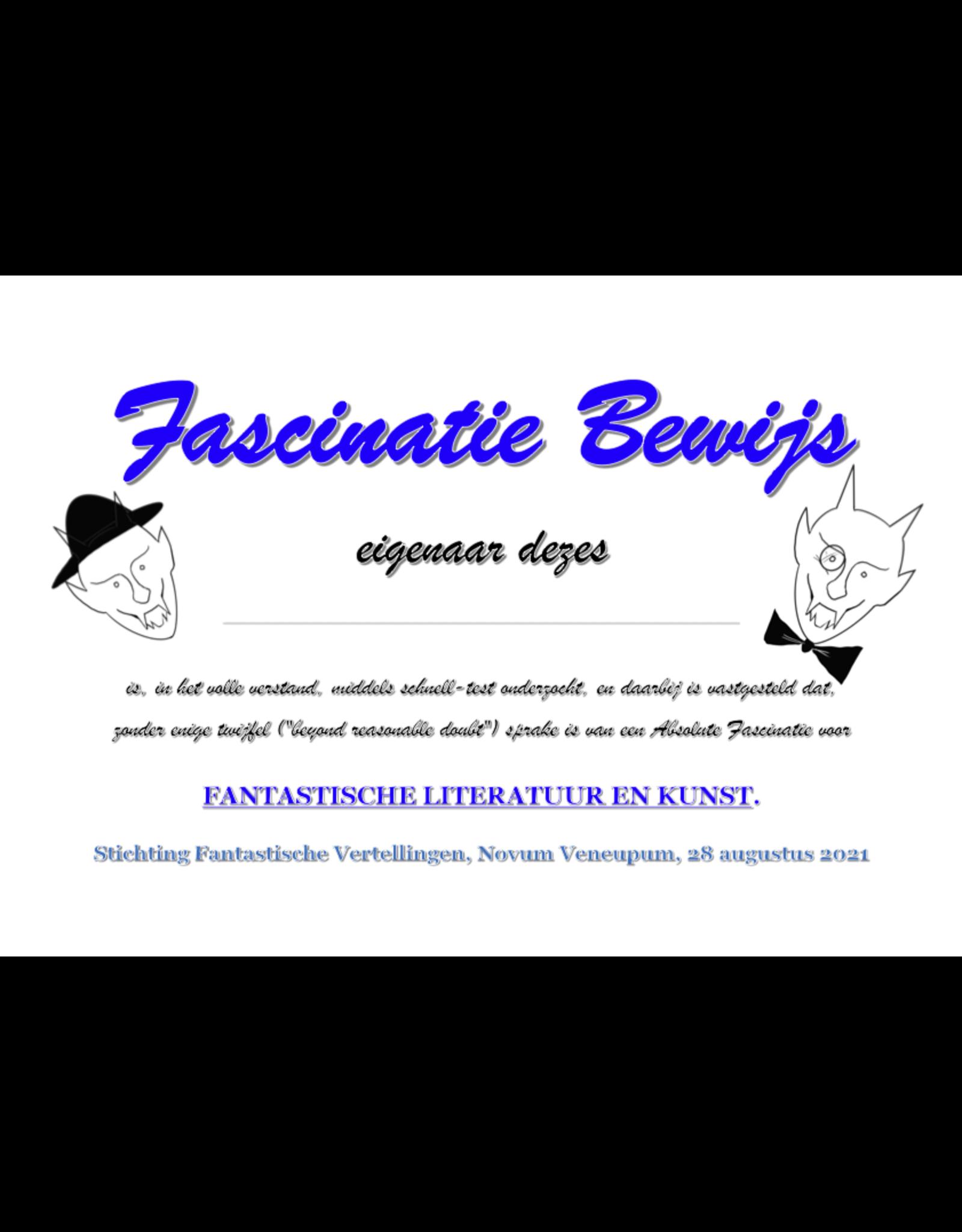 Fascinatie Bewijs - Terdoopbestellingscertificaat