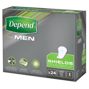 Depend Depend For Men Shields