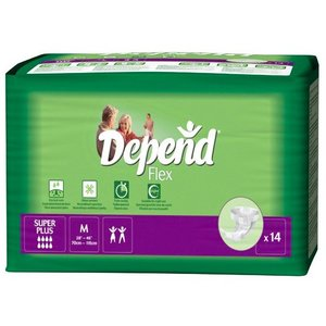 Depend Depend Flex Super Plus Medium