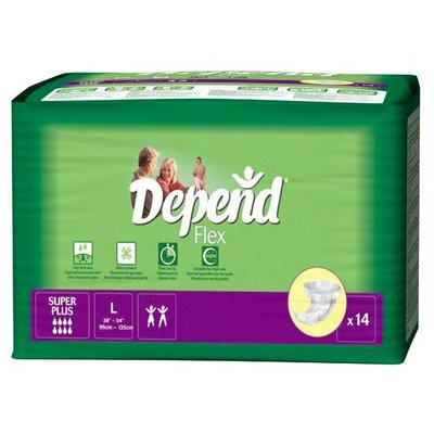 Depend Depend Flex Super Plus Large (14 stuks)