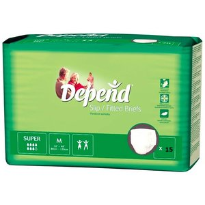 Depend Depend Slip Super Medium