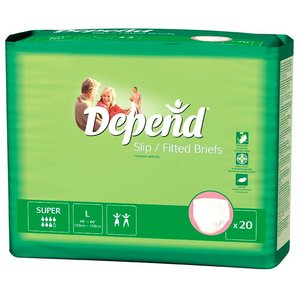 Depend Depend Slip Super Large