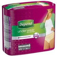 Depend Depend Pants Vrouw Super Small/Medium