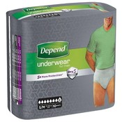 Depend Depend Pants For Men Super Small/Medium (10 stuks)