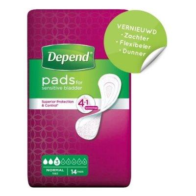Depend Depend Verband Normaal (14 stuks)