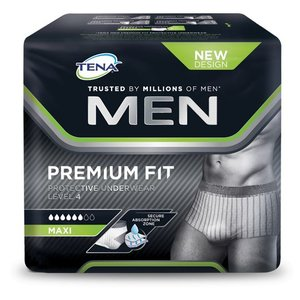 Tena Tena Men Premium Fit Protective Underwear Level 4 M