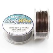 BeadSmith Craft Wire 'Smokey Quartz' 18-28 gauge