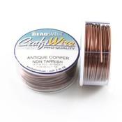 BeadSmith Craft Wire 'Antique Copper' 18-28 gauge