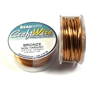 BeadSmith Craft Wire 'Bronze' 18-28 gauge