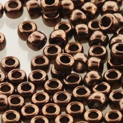 Matubo kralen 7/0 Jet Bronze Luster (tube 7,5 gr)