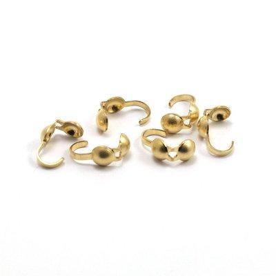 Goldfilled 14 kt kalotten 9x5 mm (p/st)