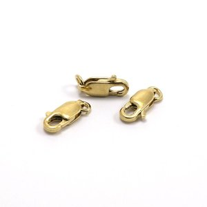 Goldfilled 14 kt Karabijn sluiting 10x5x2,5 mm (per stuk)