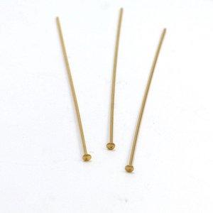 Goldfilled 14 kt nietstift 24 gauge ca. 5 cm