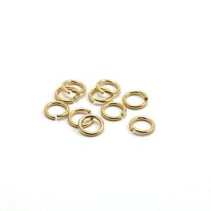 Goldfilled 14kt Montagering  ca. 5 mm - 10 stuks