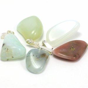 Andes-opaal hangersteen (per stuk)