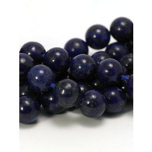 Lapis lazuli kralen 10 mm rond (streng)