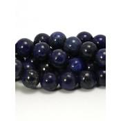 Lapis lazuli kralen 8 mm rond (streng)