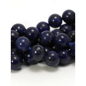 Lapis Lazuli kralen 12 mm rond (streng)