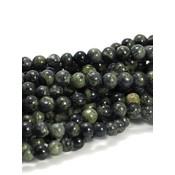 Jaspis - Kambaba jaspis 6 mm rond (streng)