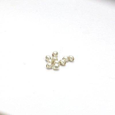 925 zilveren kralen facet 2,5 mm