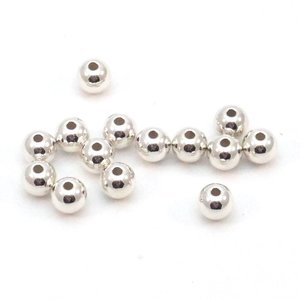 OP=OP Silver Filled - 4 mm 'smooth' rond